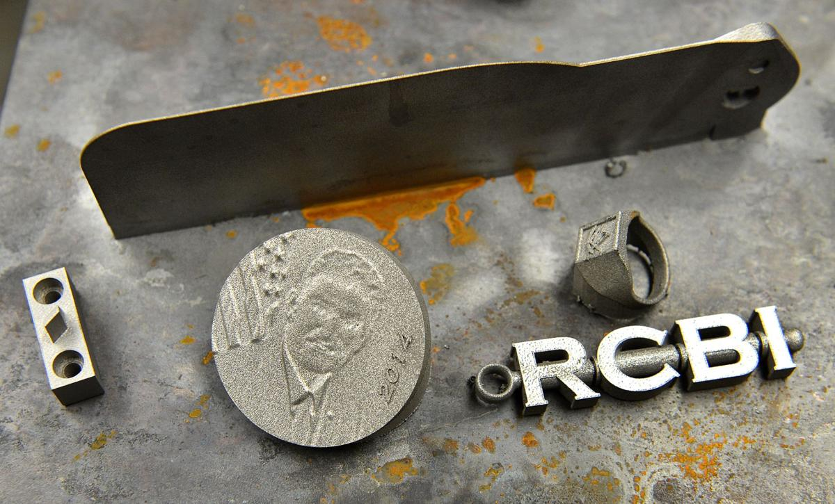 Marshall's 3-D printer uses metals to craft various parts