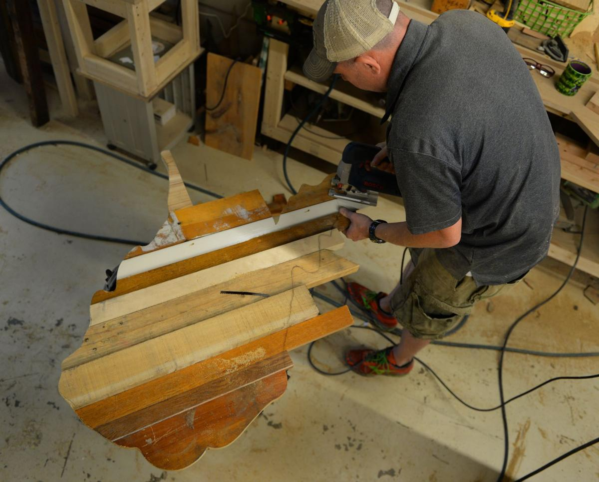 Putnam Woodworker Takes Something Old And Makes It New Again
