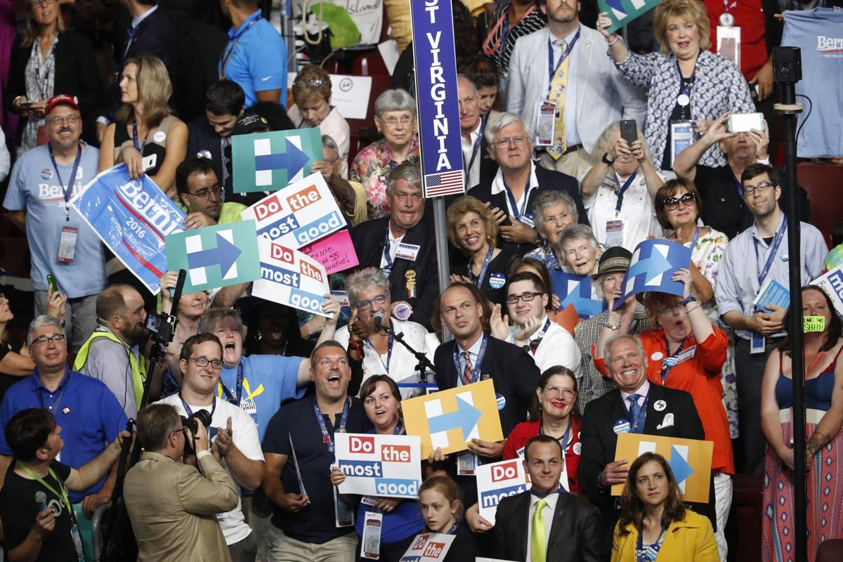 WV delegation at DNC votes for Clinton over Sanders by 1