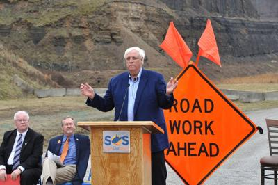 Gov. Jim Justice pushed for the road bond