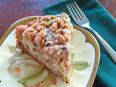 farmerstablePolish Rhubarb Crumb Cake
