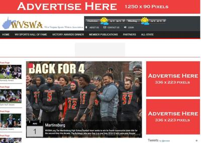 WVSWA site front page