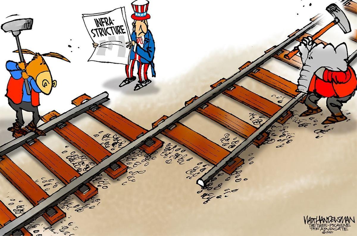 Gazette-Mail cartoon: June 12, 2021