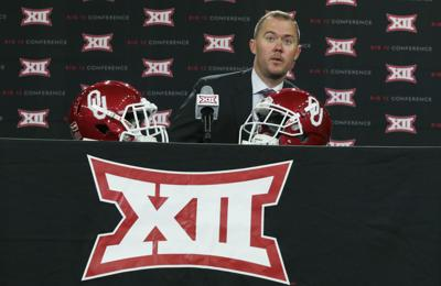 Oklahoma's Riley rode 'whirlwind' to become youngest FBS coach