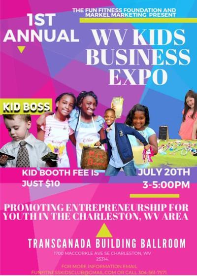 Charleston WV Kids Business Expo.