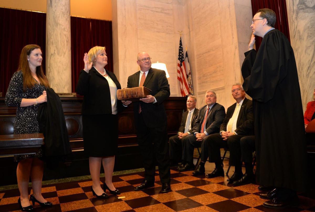 Beth Walker sworn in