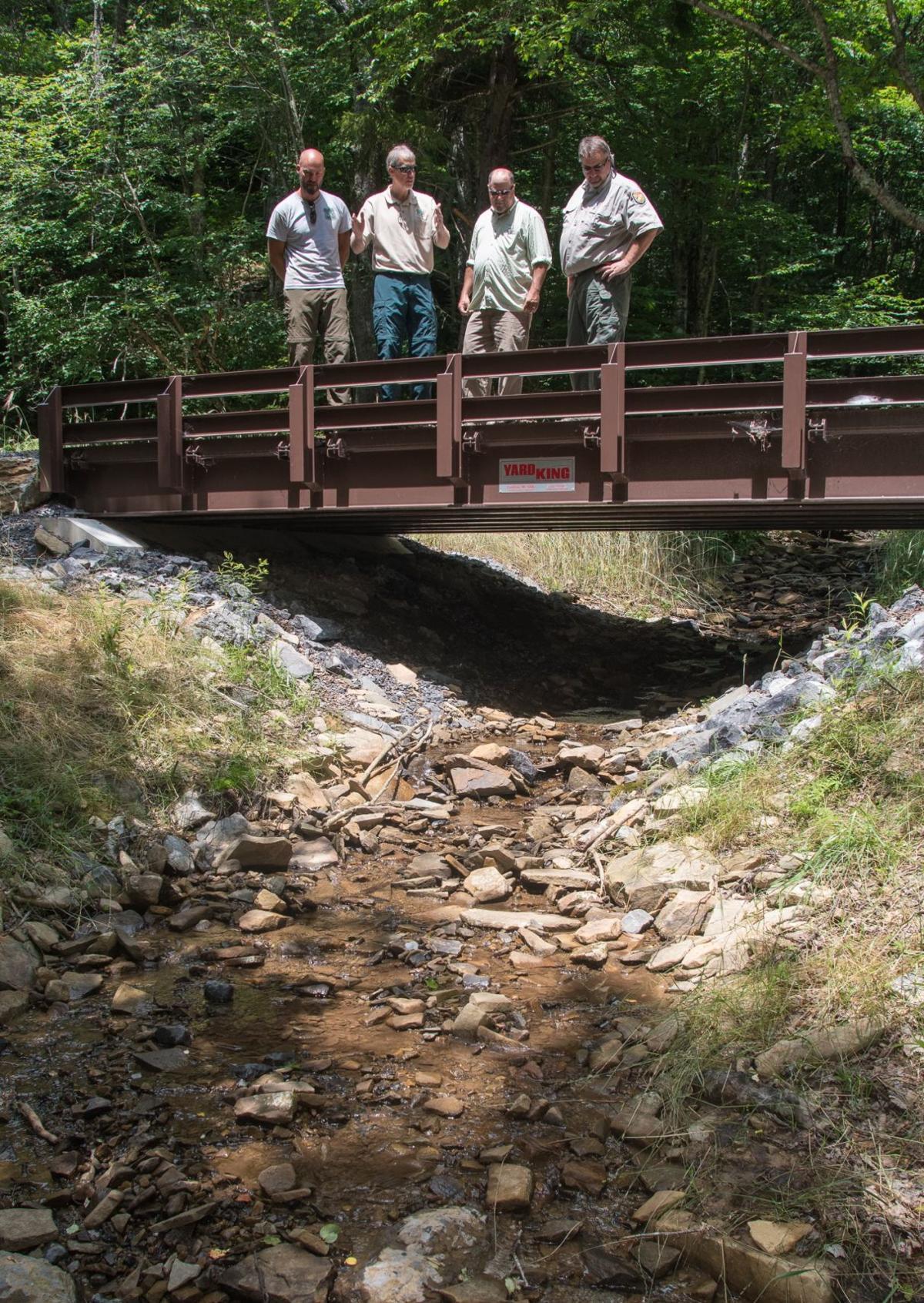 Monongahela Forest program removes culverts so trout can spawn