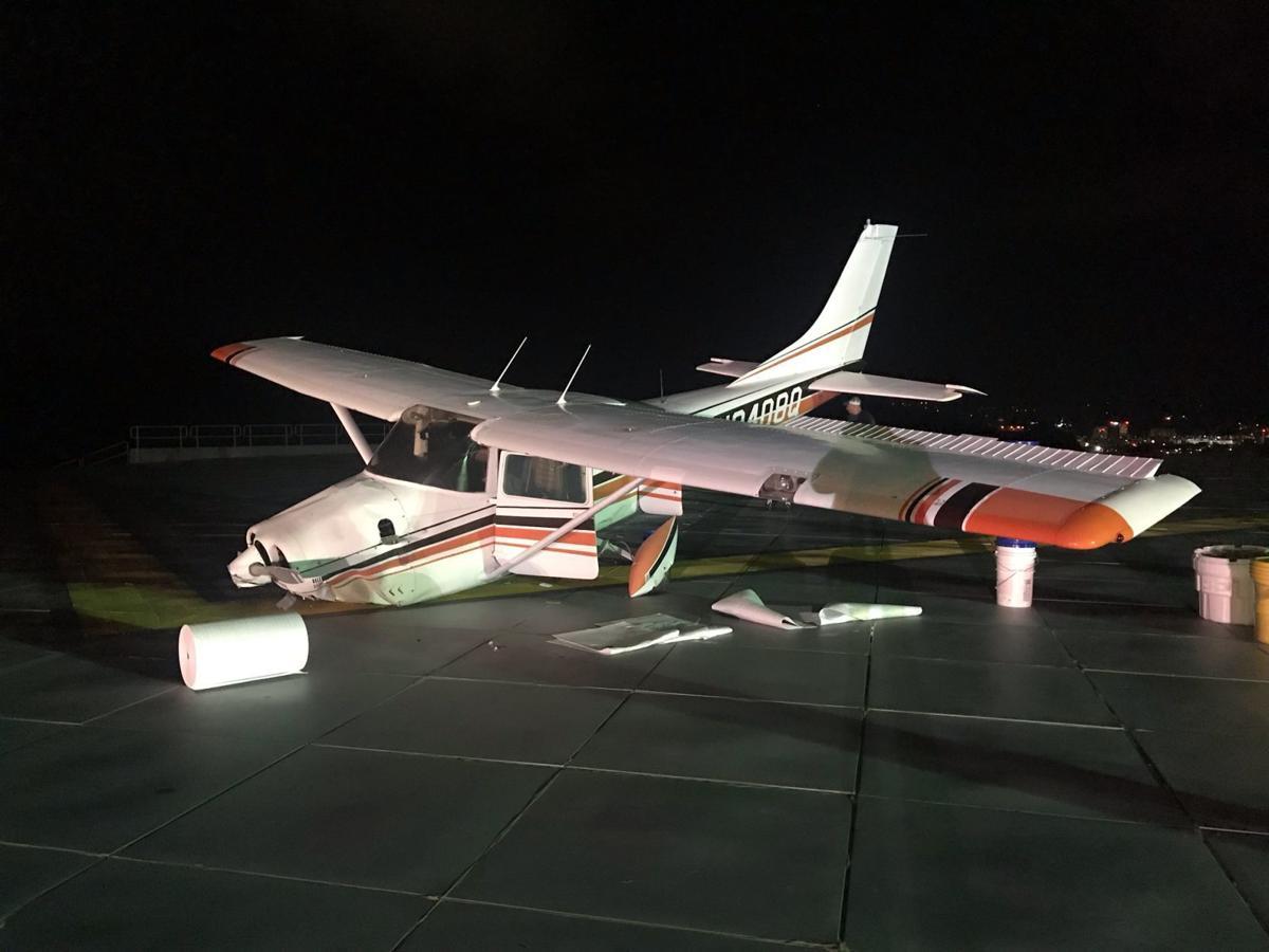 Yeager Airport plane crash