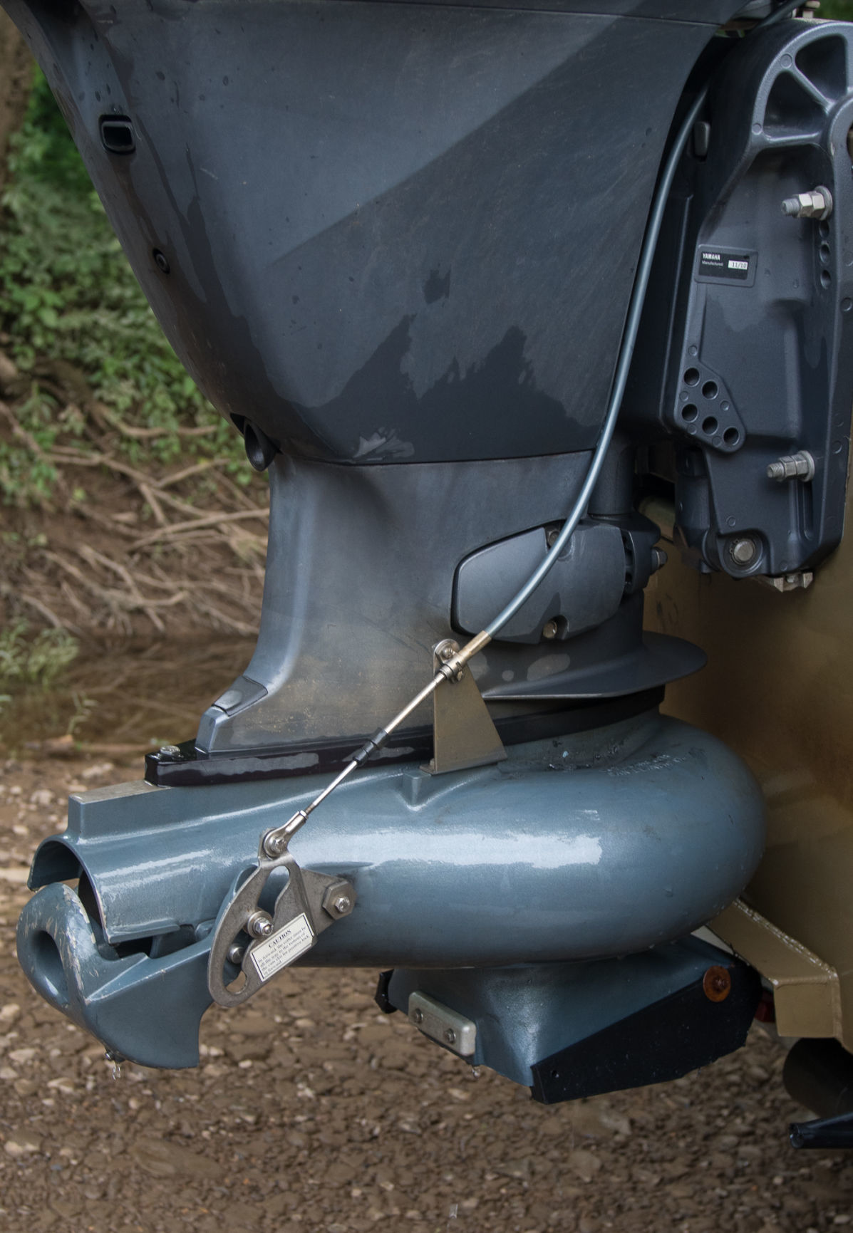 Jet-drive boats get WV anglers to fishing spots they once