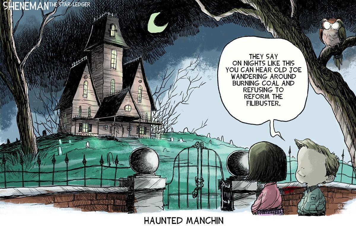 Gazette-Mail cartoon: Oct. 24, 2021