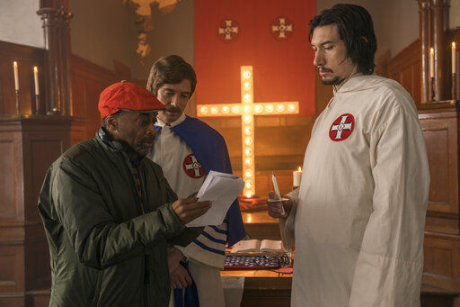 Spike Lee likes his Oscar odds with 'BlackKkKlansman'