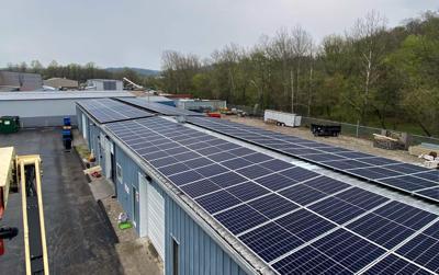 NCS solar array