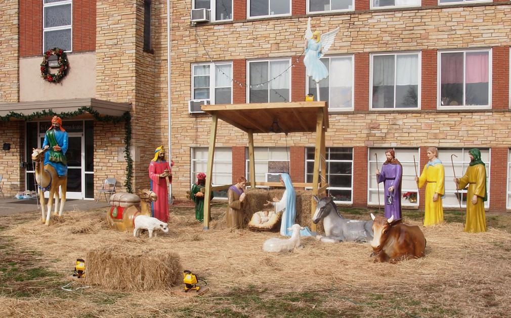 South Charleston church 'inherits' West Side Christmas manger