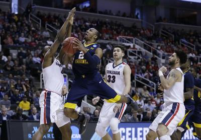 CORRECTION NCAA West Virginia Gonzaga Basketball