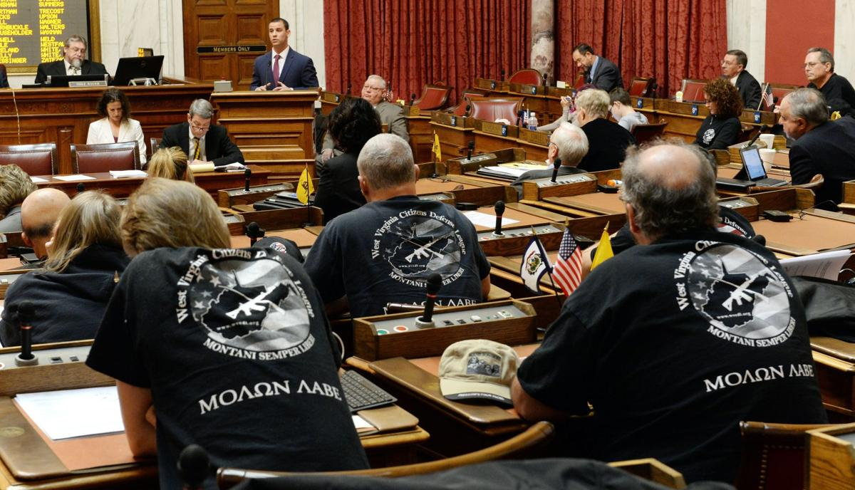 WV advances bill on concealed-carry without permit