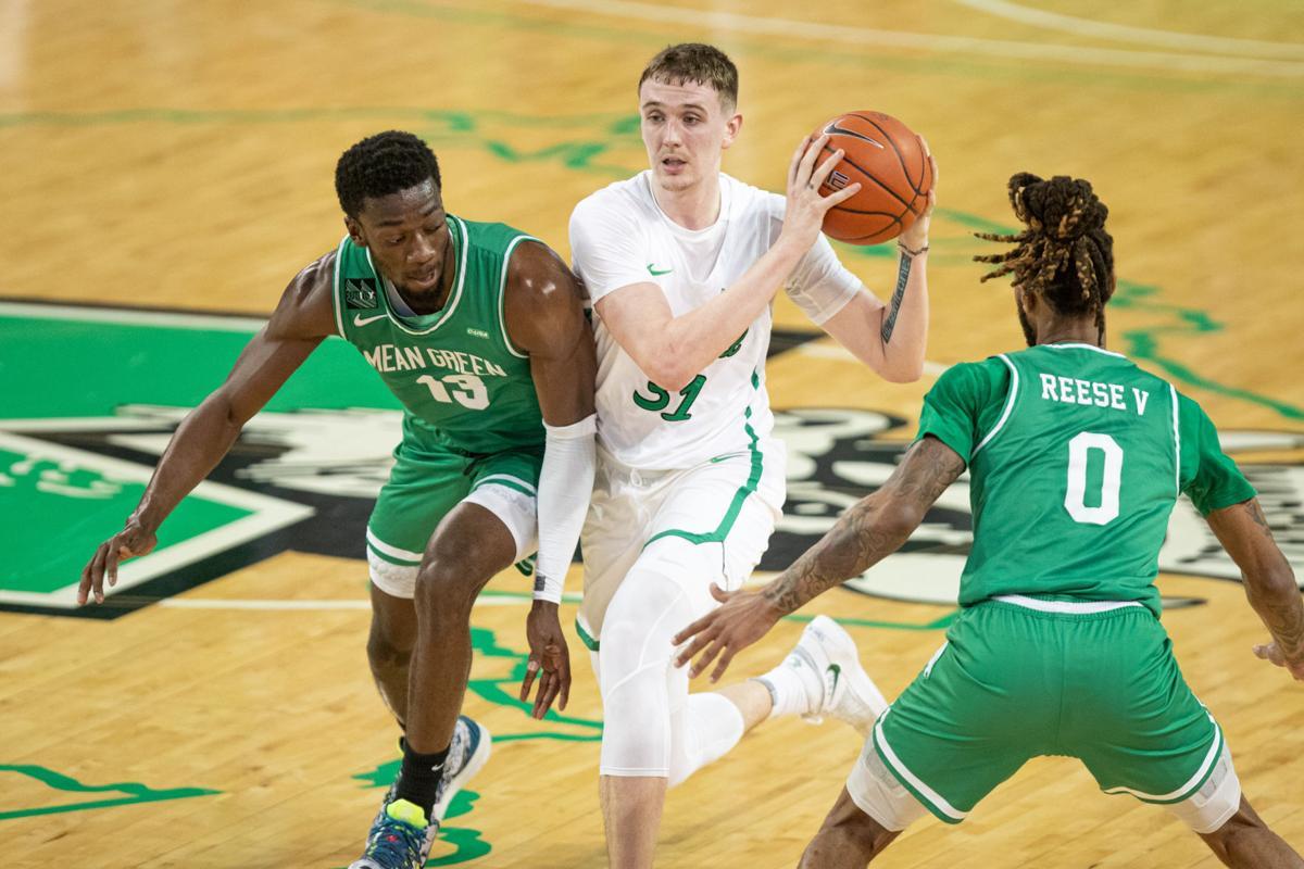 North Texas Mean Green Basketball