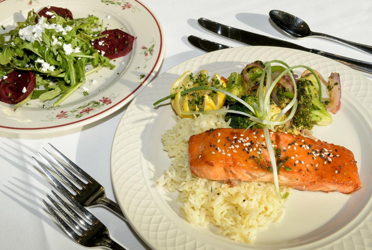 Edgewood Country Club food 1