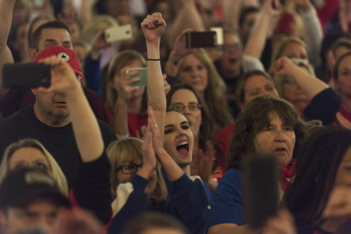 A look back: The 2018 public school employees strike