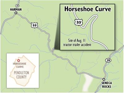 U S  33 in West Virginia: Dangerous curves, deadly drop-offs
