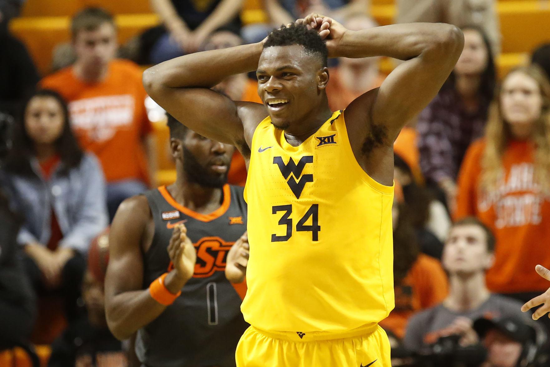 Brandon Knapper West Virginia Basketball Jersey - Yellow