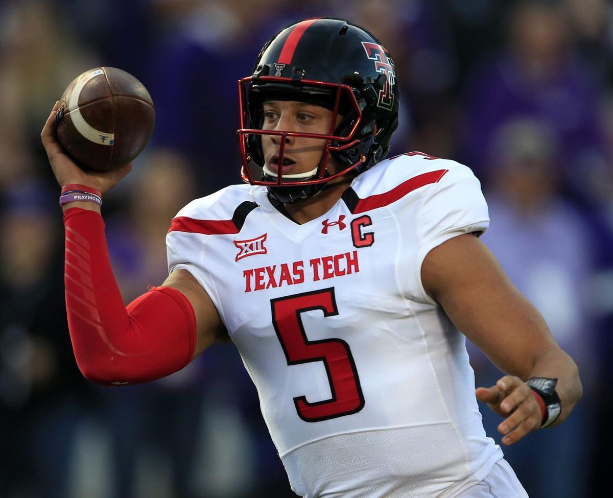 3df94848eec Texas Tech QB Pat Mahomes' arm makes the Red Raiders offense go ...