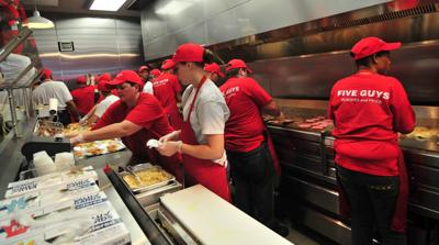 Five Guys Closes Restaurant At Town Center Mall