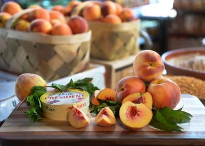 Purple Onion Peaches