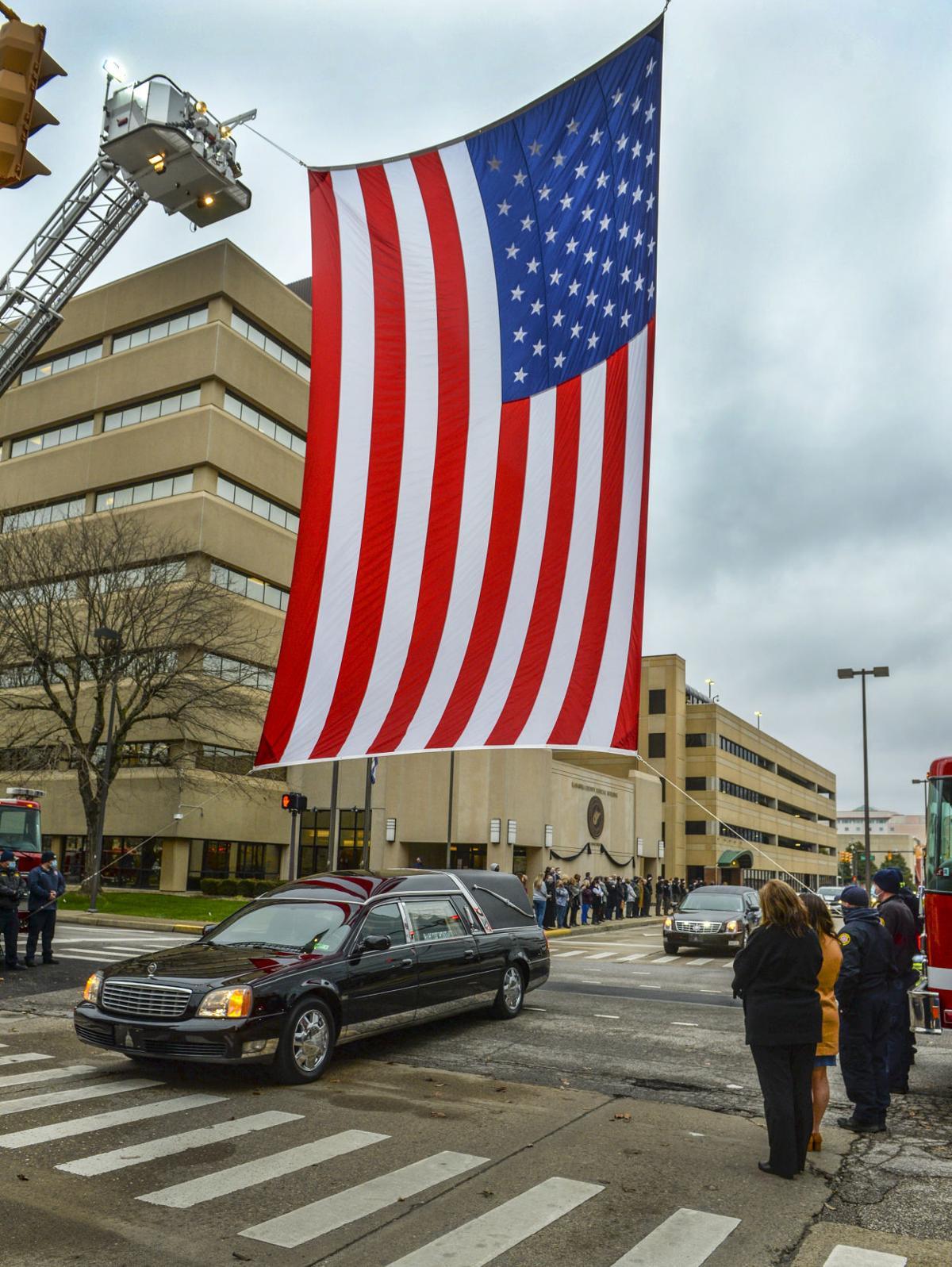 Judge Charles E. King Jr. Funeral
