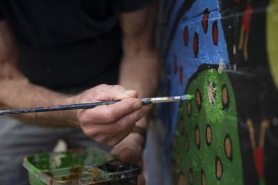 Friends, family reflect on life and work of artist Charly 'Jupiter' Hamilton