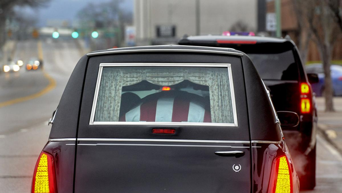 king funeral procession