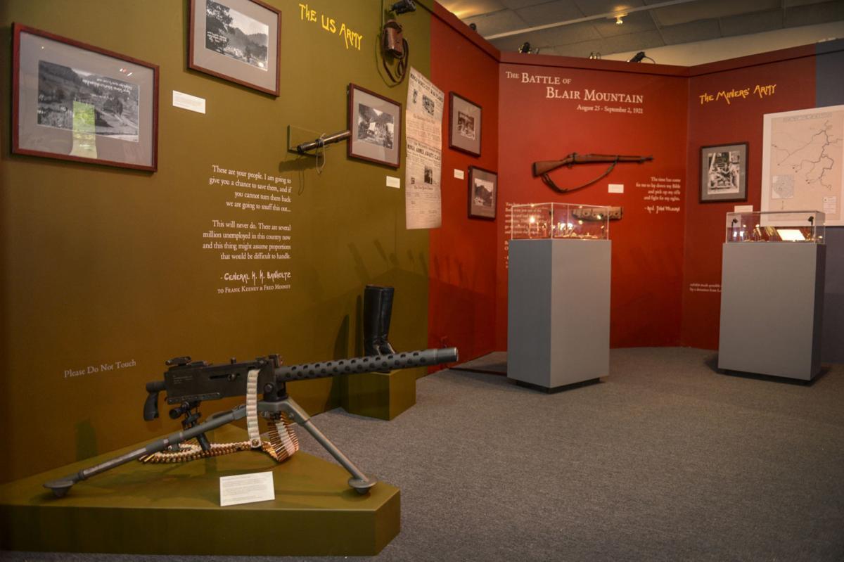 Mine Wars Museum guns display.jpg