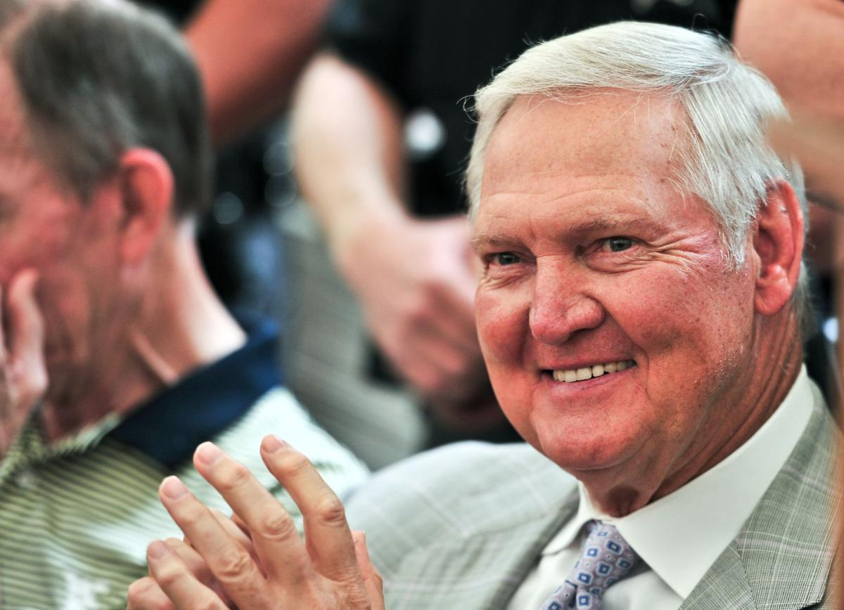 Ex West Virginia NBA star Jerry West to visit university