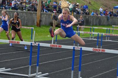 Aubrey Wiethe Wheeling Park girls track