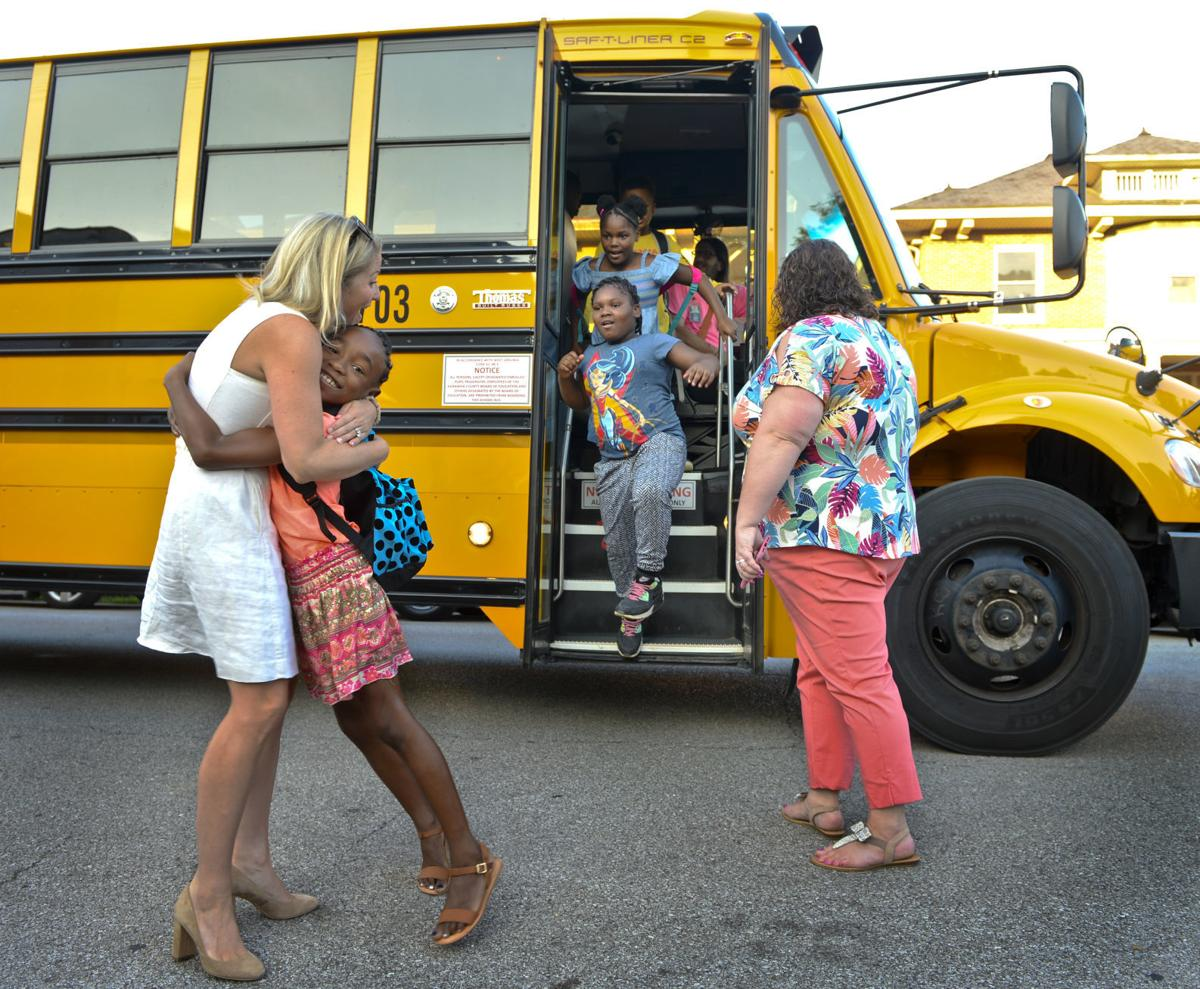 First Day of School at Piedmont Elementary