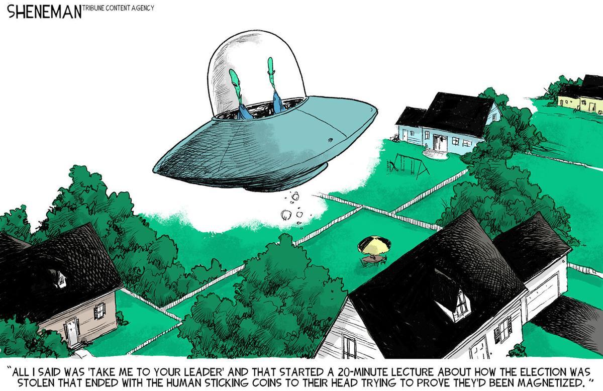 Gazette-Mail cartoon: June 15, 2021