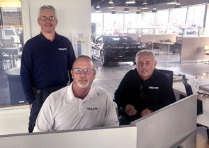 Walker Chevrolet celebrating three years at Nitro location.