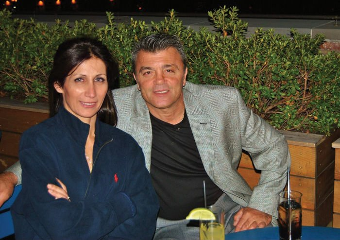 Manoli and wife