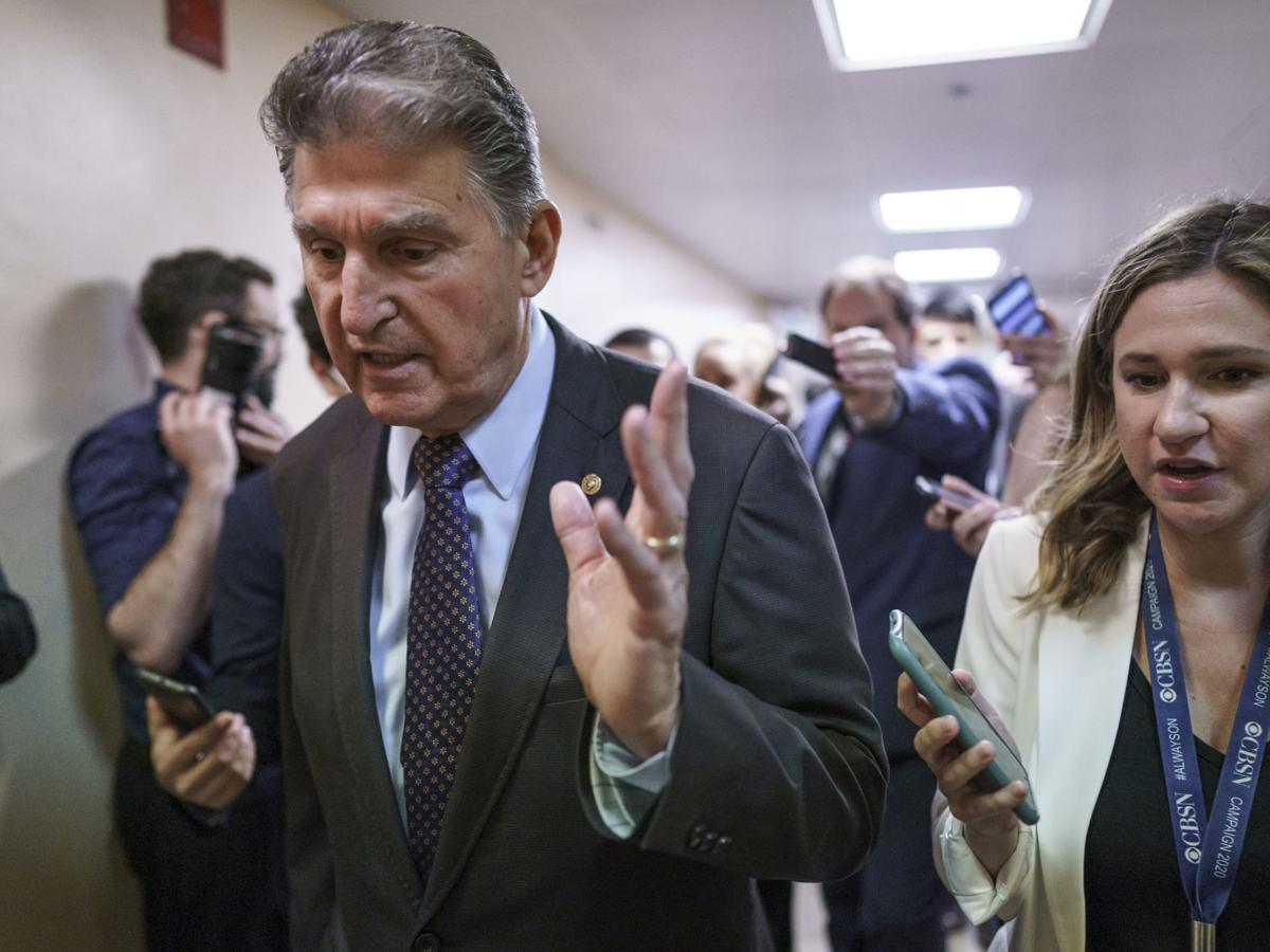 Frederick Hufford: Manchin has two choices (Opinion)