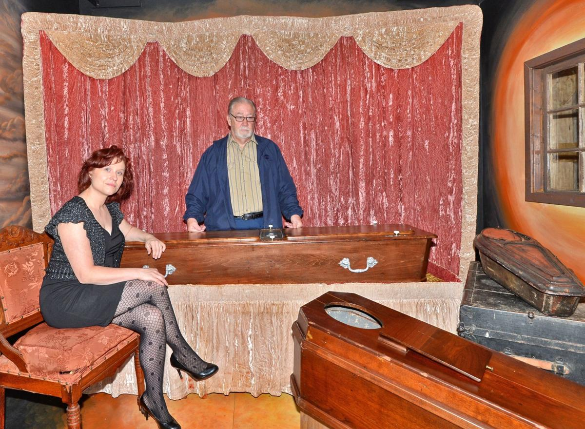 Local mortician's collection preserves history of embalming