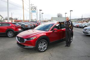 New Mazda CX-30 hits the 'sweet spot' in crossover size, see it at Lester Raines Mazda.