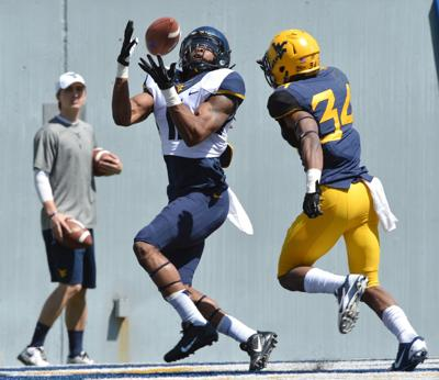 WVU FOOTBALL: Banks unlikely hero for receiving corps