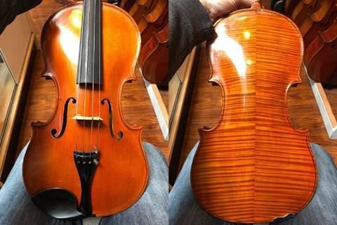 Trump gives viola made in Charleston in 1938 to new emperor of Japan