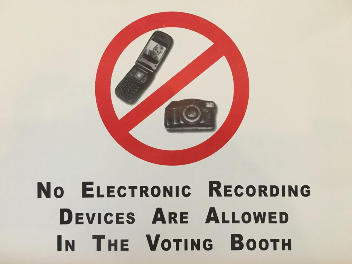 WV Law No Selfies In The Voting Booth Politics - Noselfies 9 places where selfies are banned