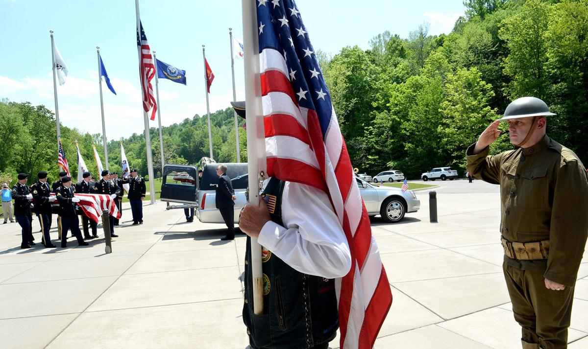 WWI Medal of Honor recipient West laid to rest in Dunbar