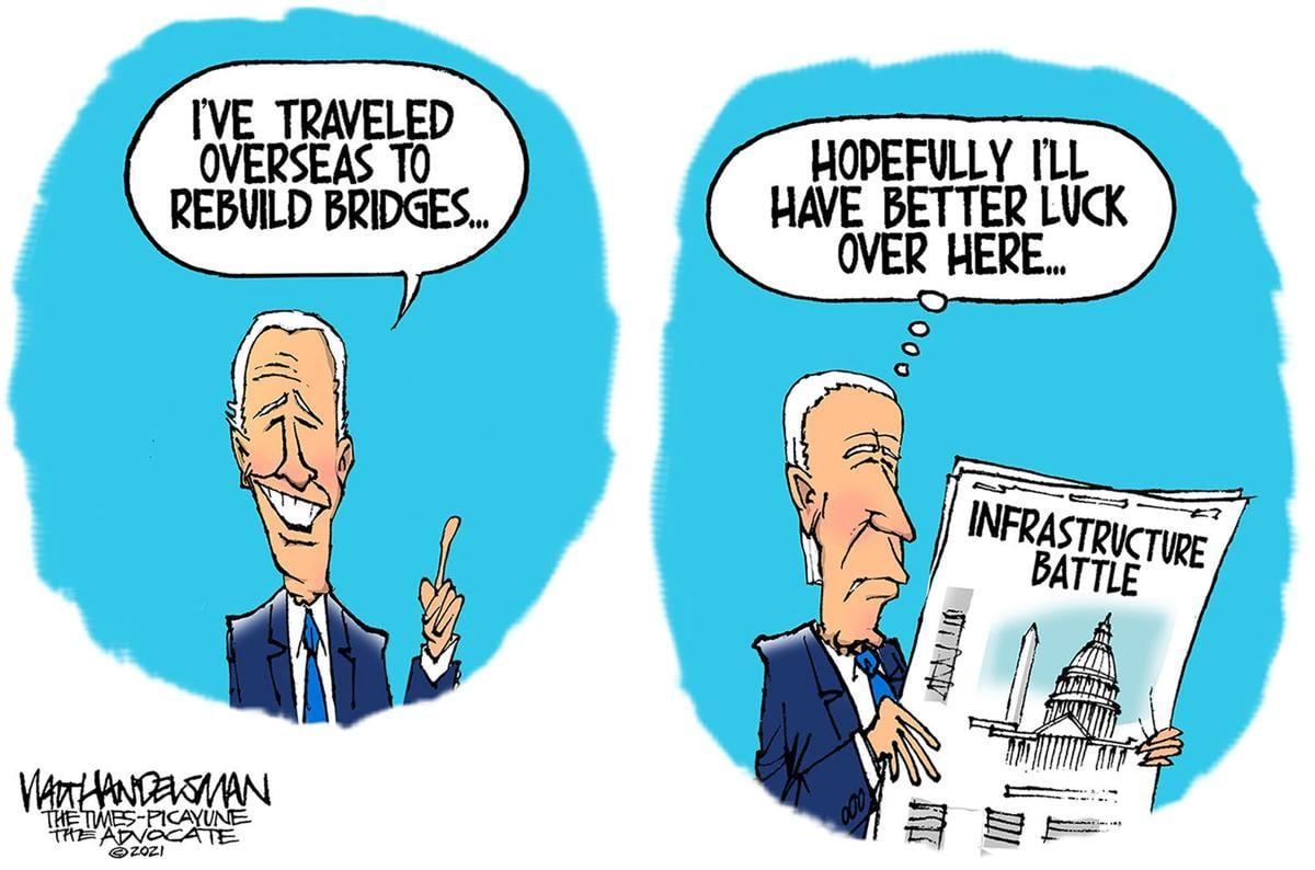Gazette-Mail cartoon: June 16, 2021
