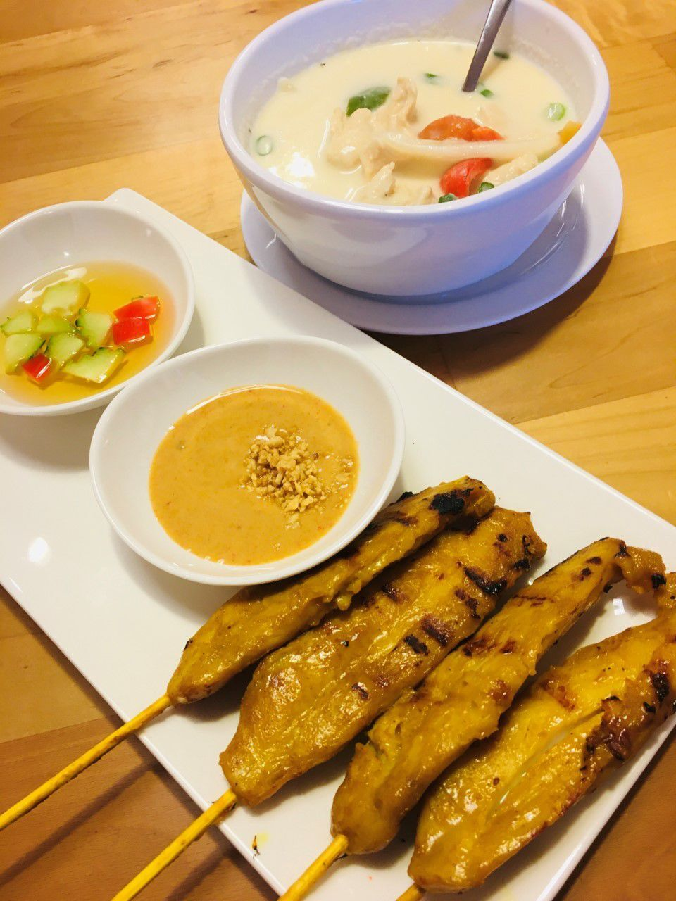 20210324-gm-foodguy_Chicken Satay and Tom Kha Soup.jpg