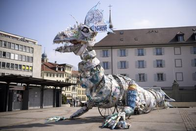 Switzerland Greenpeace Plastic