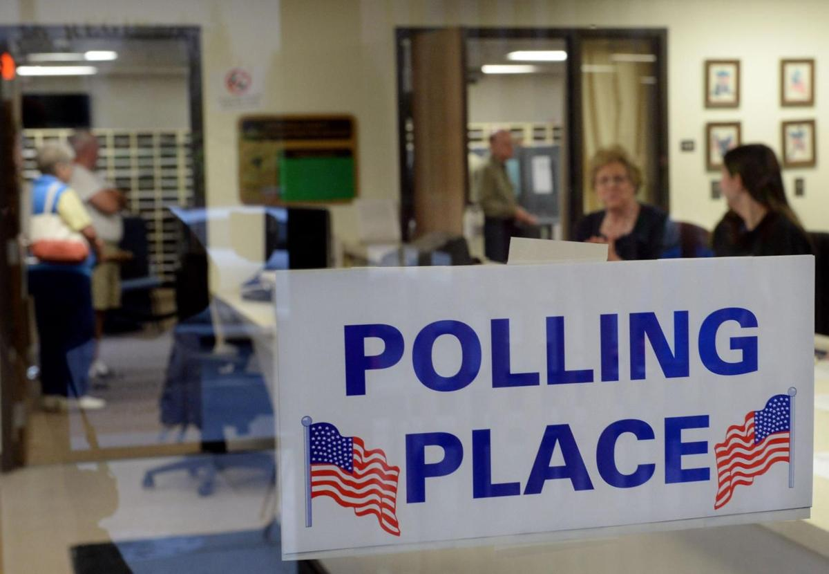 election vote polling place