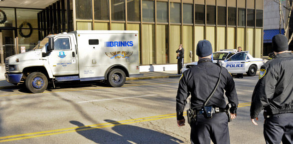 teen startled brinks driver police say