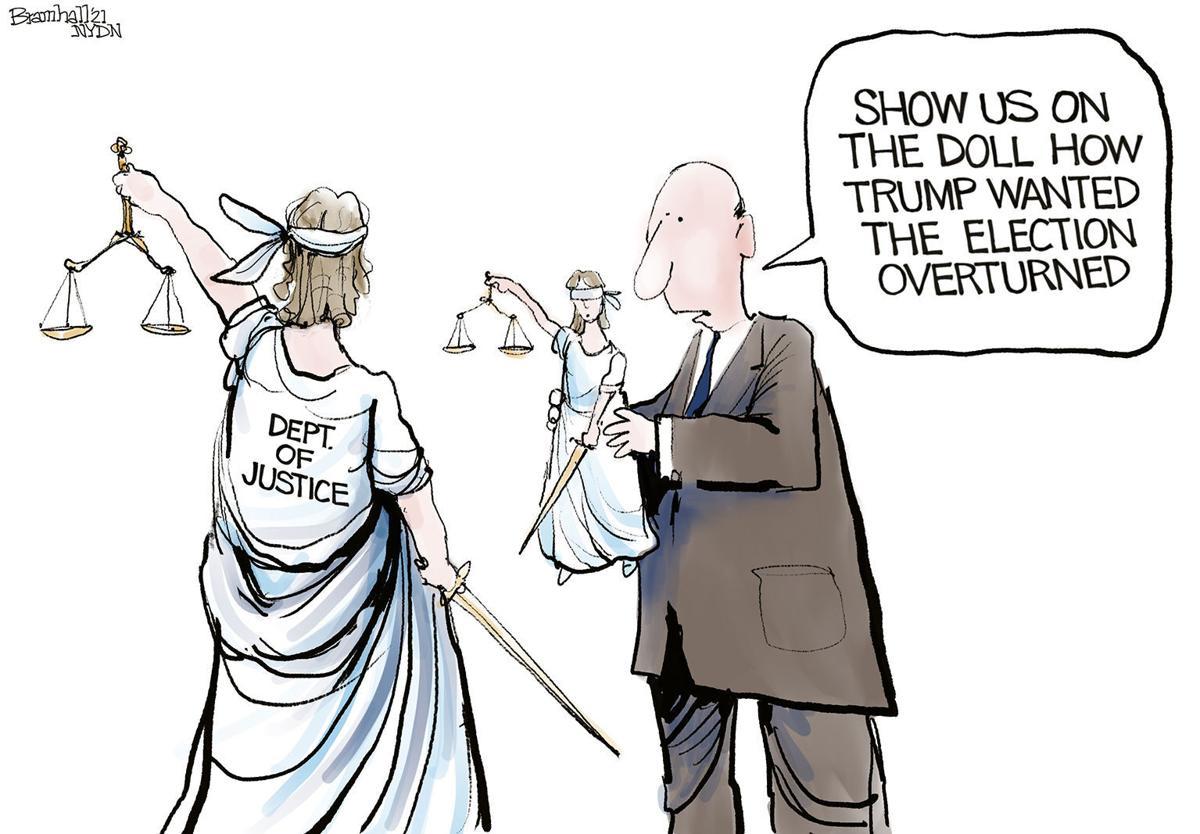 Gazette-Mail cartoon: June 17, 2021